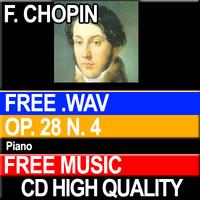 F. CHOPIN - Prelude Op. 28 N. 4