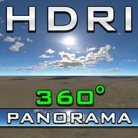 HDRI Panorama - Classic Blue