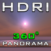HDRI Panorama - Clean Virtuality Rose