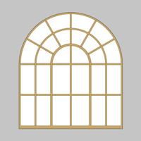 Decorative Arch Window