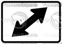 Directional Arrow Sign 2