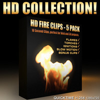 Fire Video Collection - 5 Pack (in HD)