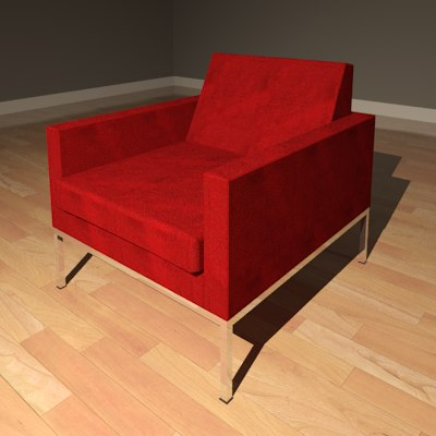 Furniture Chair Vintage Knoll_Render01.png