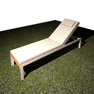 Building rfa outdoor chaise lounge for Chaise lounge construction