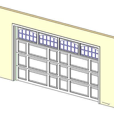 Building Rfa Garage Door Panels