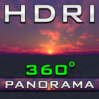 HDRI Panorama - Hawaii Sundawn