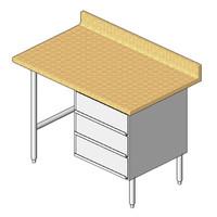 John Boos Maple Top Work Table BT1S01
