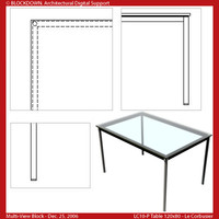 LC10-P Table 120x80 Multi-View Block