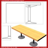 LC11-P Table Multi-View Block