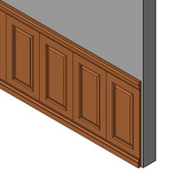 Masonite Wainscot