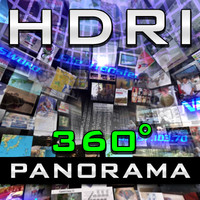 HDRI Panorama - Media-Sky