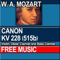 W.A. MOZART - DOUBLE CANON KV 228