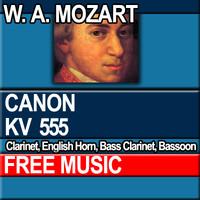W.A. MOZART - CANON KV 555