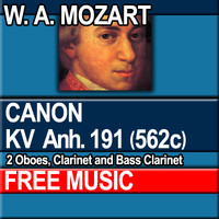 W.A. MOZART - CANON KV Anh. 191