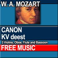 W.A. MOZART - CANON KV deest