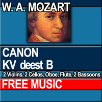 W.A. MOZART - CANON KV deest B