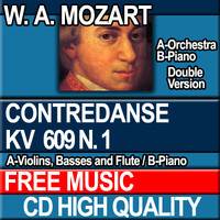 W.A. MOZART - CONTREDANSE KV 609 N. 1 [Piano ver.]