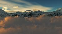 Mountain Peak Animation