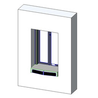 QuickServ FM-1B Semi-Automatic Drive Thru Window