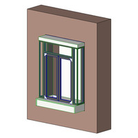 QuickServ PW-3B Manual Drive Thru Window