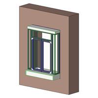 QuickServ PW-3B Manual Drive Thru Window