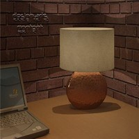 Table Lamp-Pill Shaped
