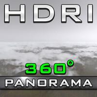 HDRI Panorama - Scotland Fogbound
