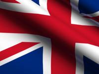 United Kingdom Animated Flag