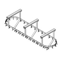 Universal Stainless Ceiling Mount Pot Rack PR-C-96-S