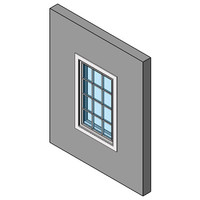Casment Or Awning Window, Single