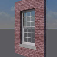 Double Hung Window, Single