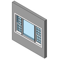 Picture Window With Double Hung Sidelites