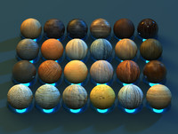 High Quality Cinema 4d Wood Materials Pack