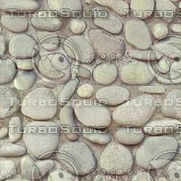 cobbled paving