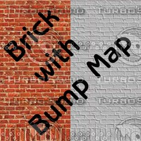 Red Brick with Bumpmap