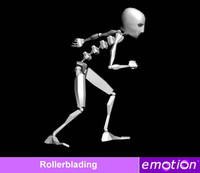 emo0006-Rollerblading