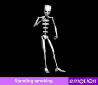 emo0007-Standing smoking