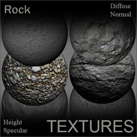 Rock Textures for Shaders