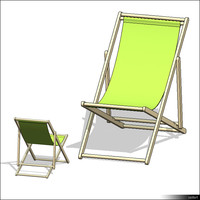Seating Deck Chair 00859se