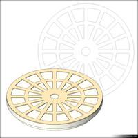 Manhole Cover 00896se
