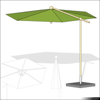 Beach Umbrella Cantilever 00925se