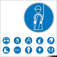 2D Symbol Mandatory Signs 00940se