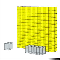 Glass Block Wall 00958se