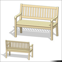 Seating Bench 00967se