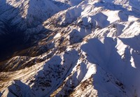 The Andes mountains