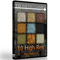 10 High Res Fur Textures