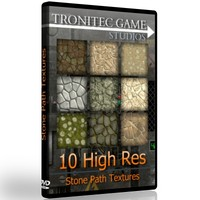 10 High Res Stone Path Textures