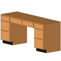 2Desk Cab + 2 Drawer