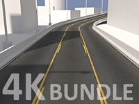 4K Road Texture Bundle