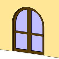 Arch Double Door